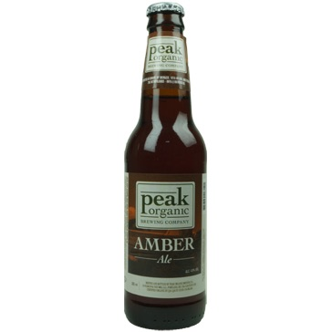 Peak Organic – Amber Ale 35,5cl