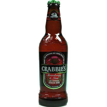 Crabbies – Strawberry Lime 33cl