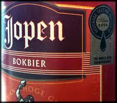 Jopen 4 granen Bokbier, Jopenkerk Bierbrouwerij, Haarlem