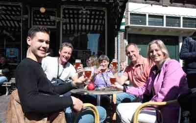 9e Lentebierwandeling Leiden