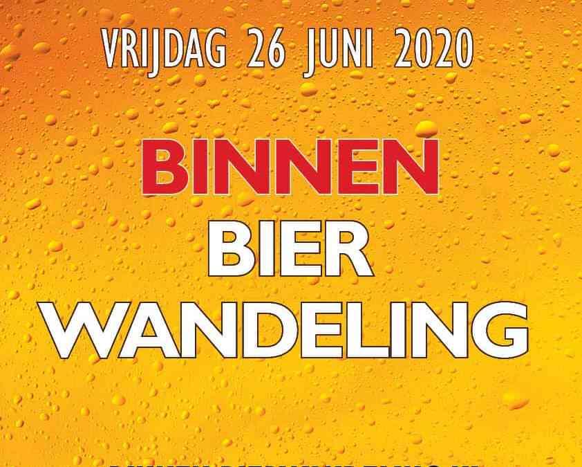 26 juni 2020 BinnenBierwandeling