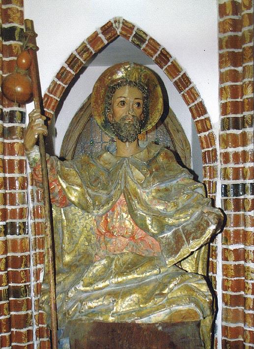 Santiago Peregrino de Labaniego (se encuentra en el museo de las peregrinaciones de Astorga actualmente)