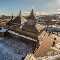 Najpiękniejsze cerkwie Bieszczadów ukraińskich