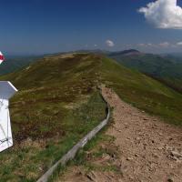 Brzegi Górne - Ustrzyki Górne szlak Czerwony