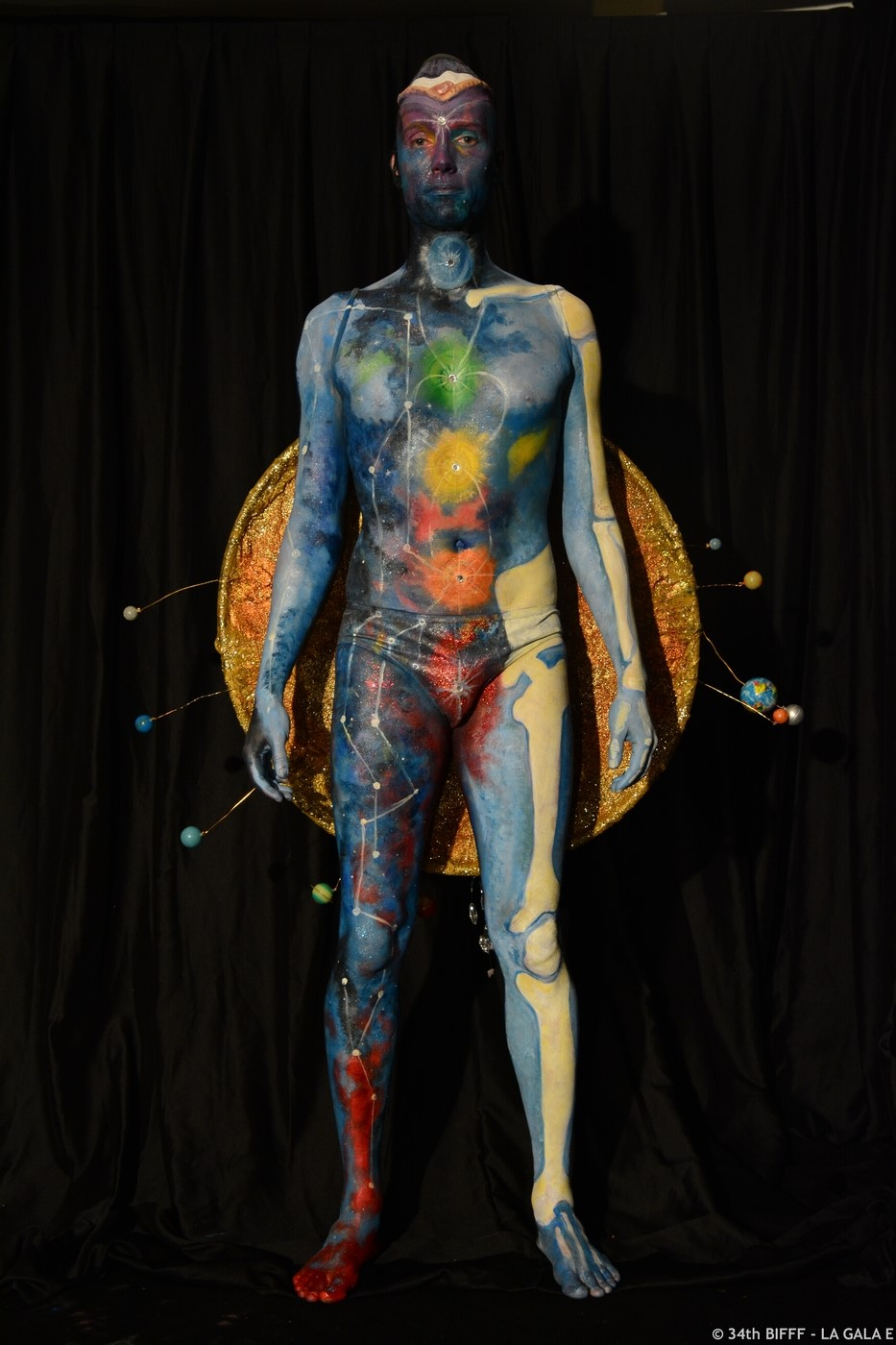 30th international body painting contest. Black Bedroom Furniture Sets. Home Design Ideas