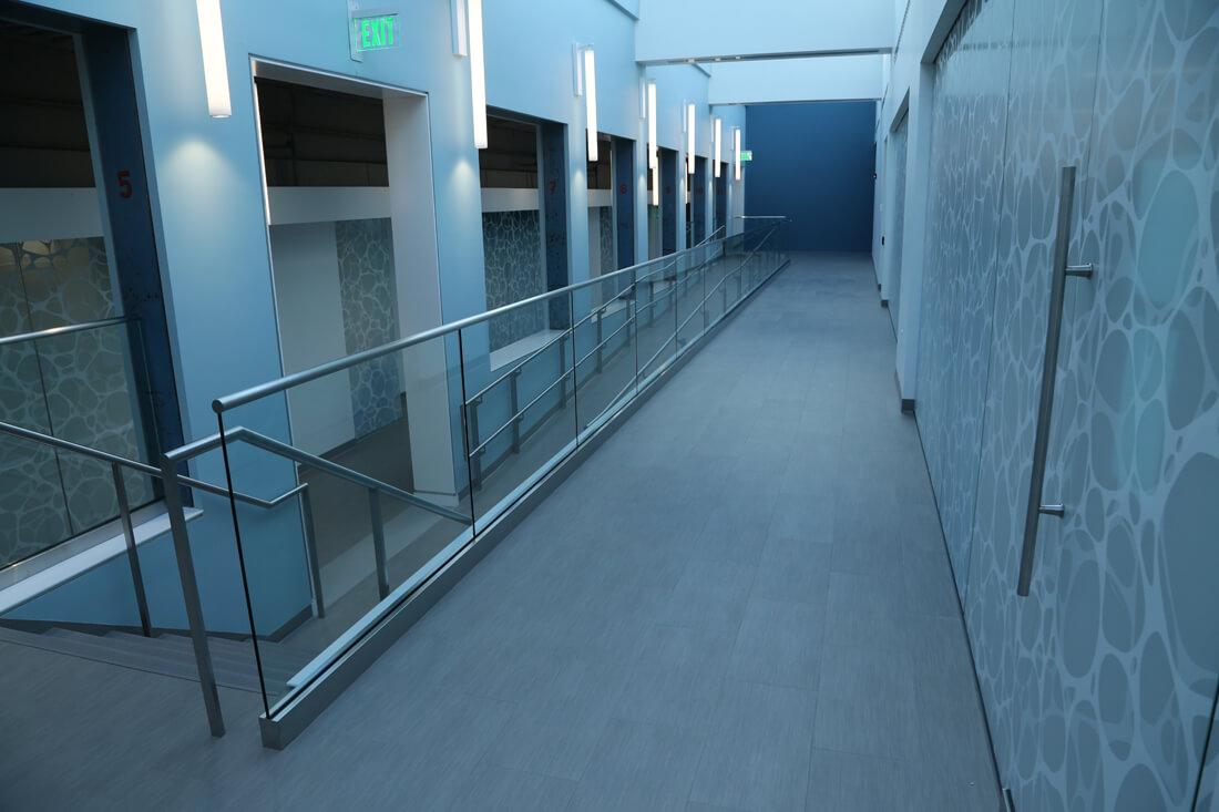 Business Interior Floors  Vinyl Flooring Gallery