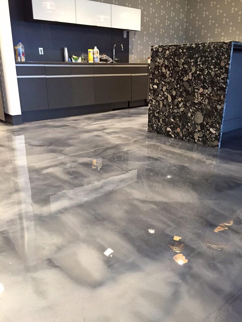 Business Interior Floors Epoxy Flooring