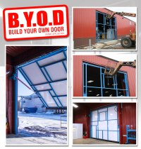 Shop Door - Build Your Own Door | DIY Welding Plans