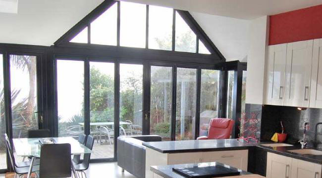 Schuco AWS60 aluminium windows