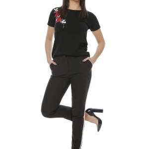 Tricou negru dama elegant