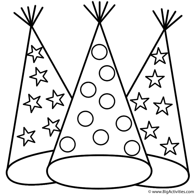Party Hat With Dots