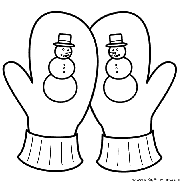 "Search Results for ""Scarf Mittens Hat Coloring Page"