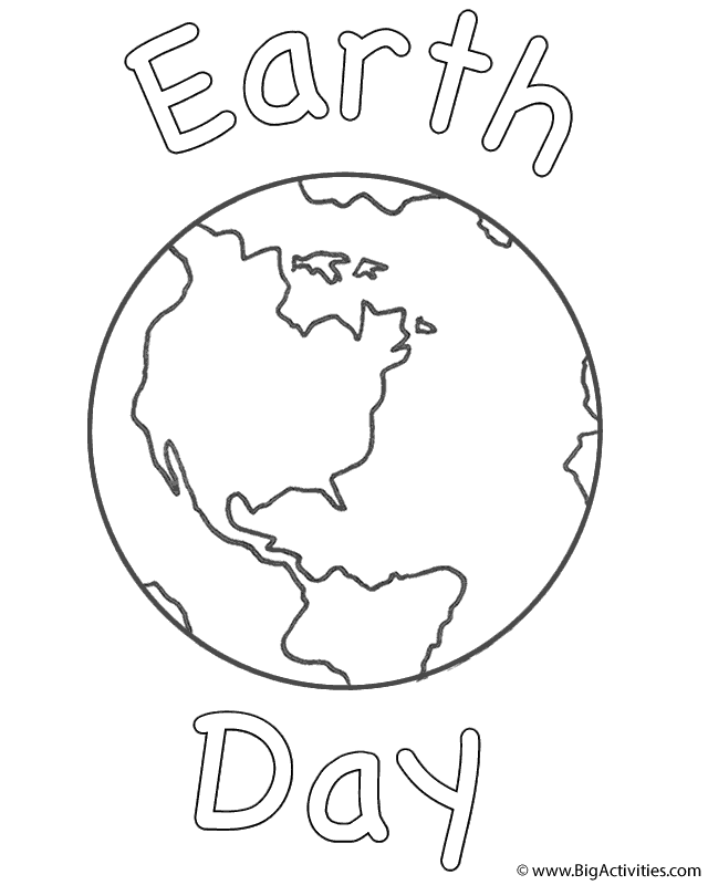 Free coloring pages, Free coloring and Earth day on Pinterest
