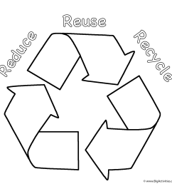 Recycled Materials Worksheet   Printable Worksheets and Activities for  Teachers [ 1387 x 1387 Pixel ]