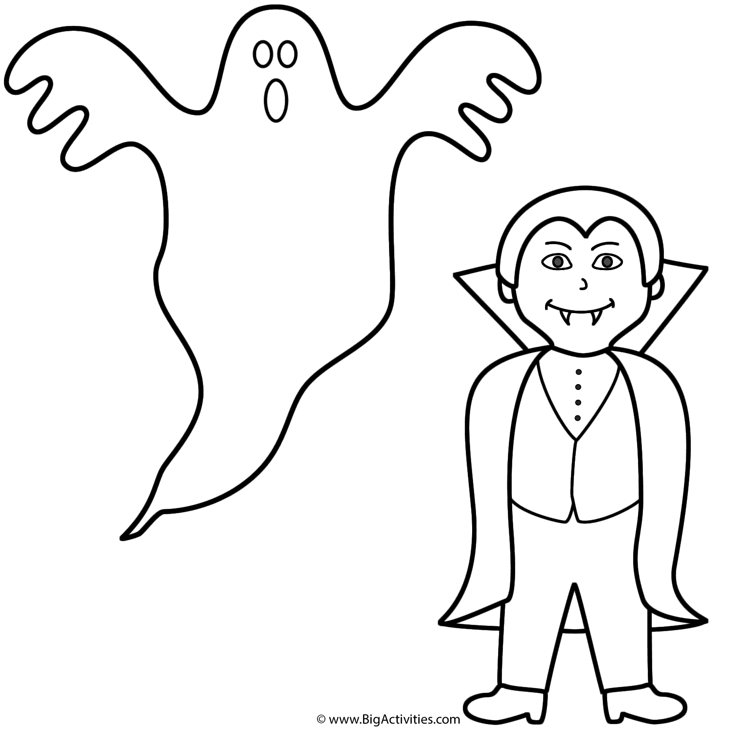 Ghost With Vampire