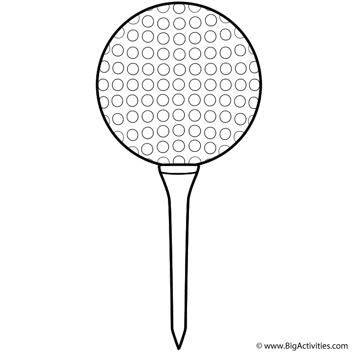 Golf Sports Coloring Pages Coloring Pages