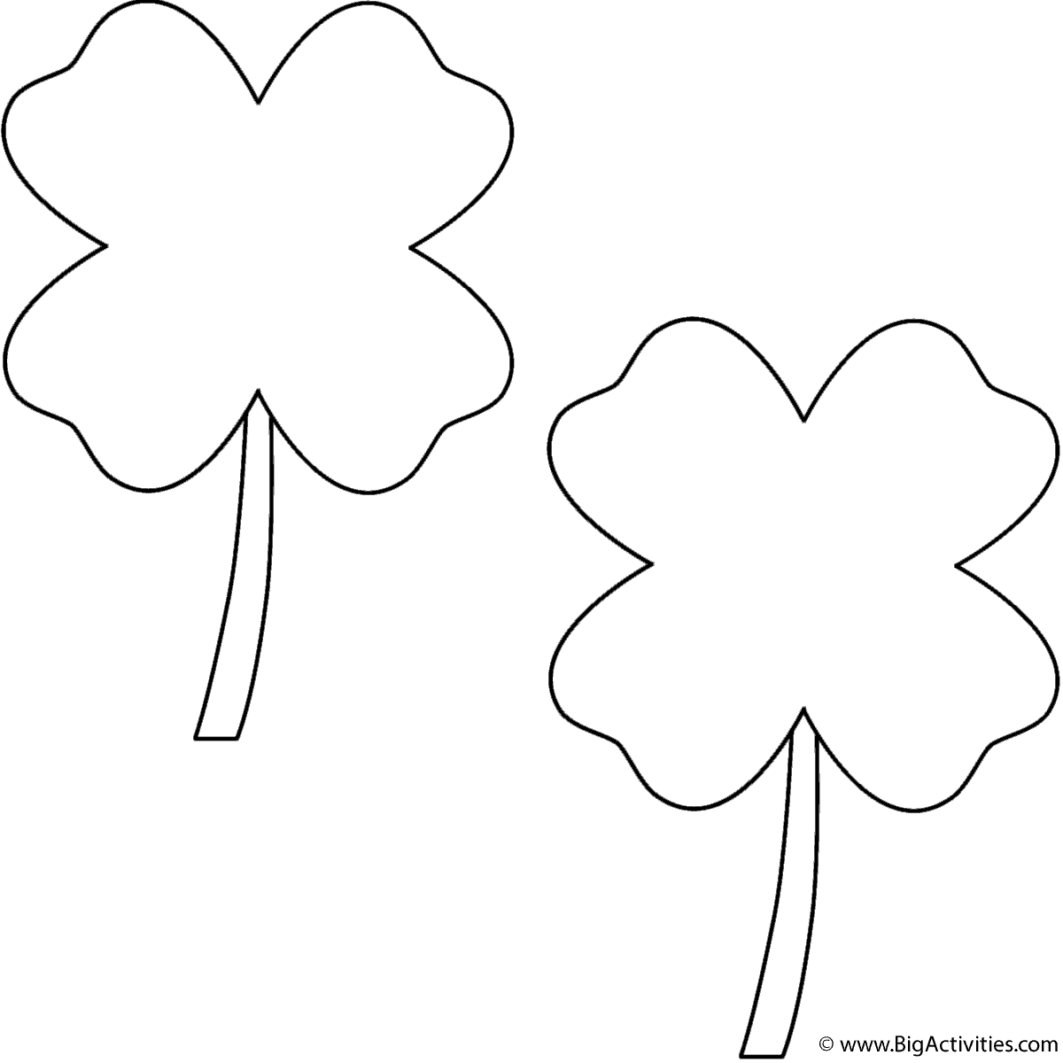 Four Leaf Clovers 2 Clovers