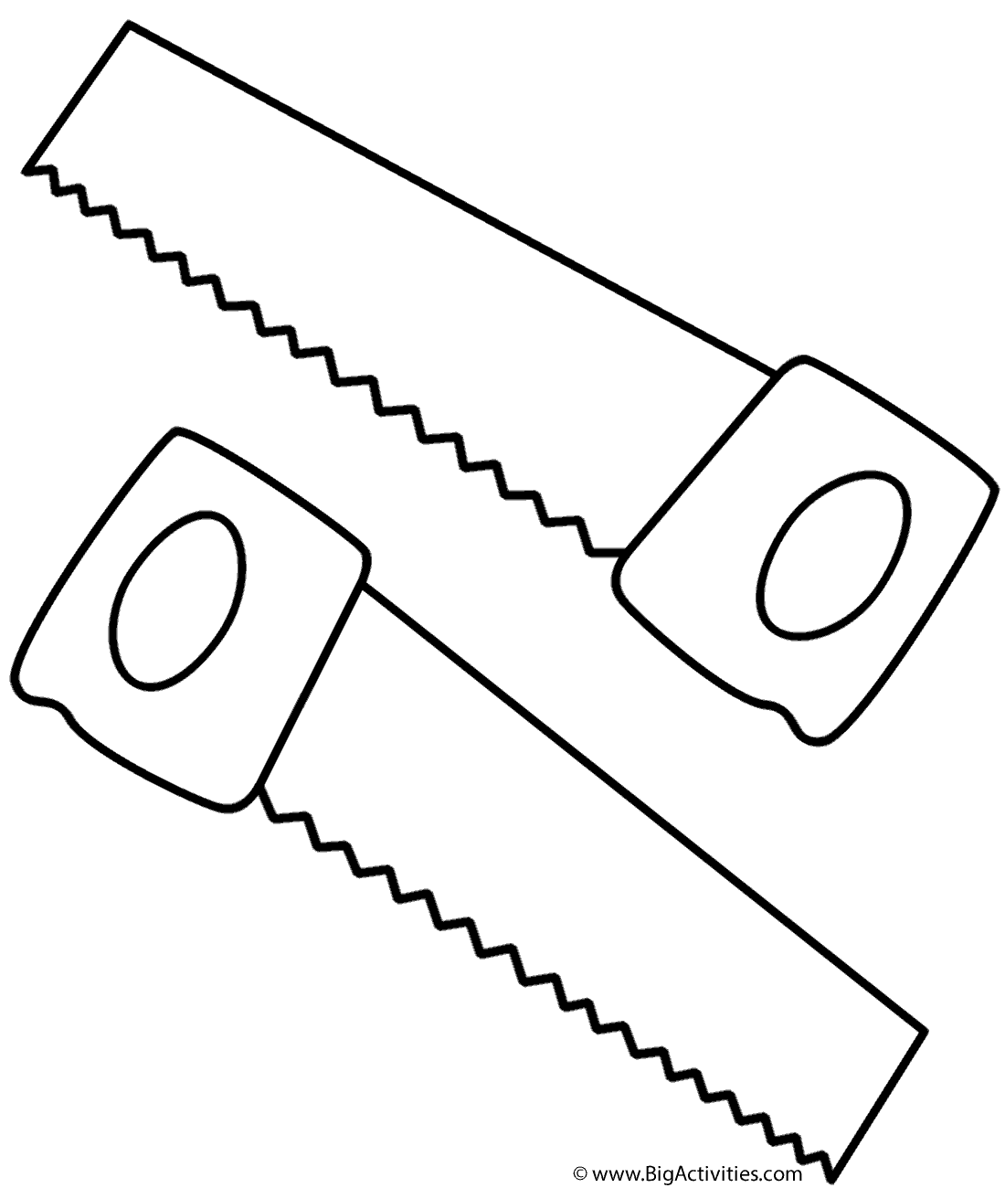 Tool Coloring Page Coloration