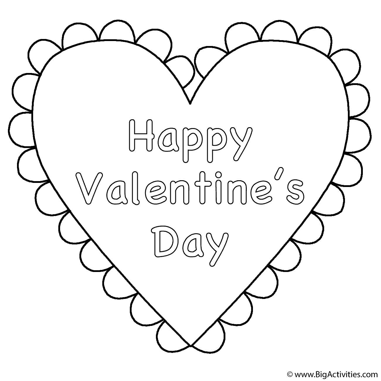Heart Happy Valentine S Day