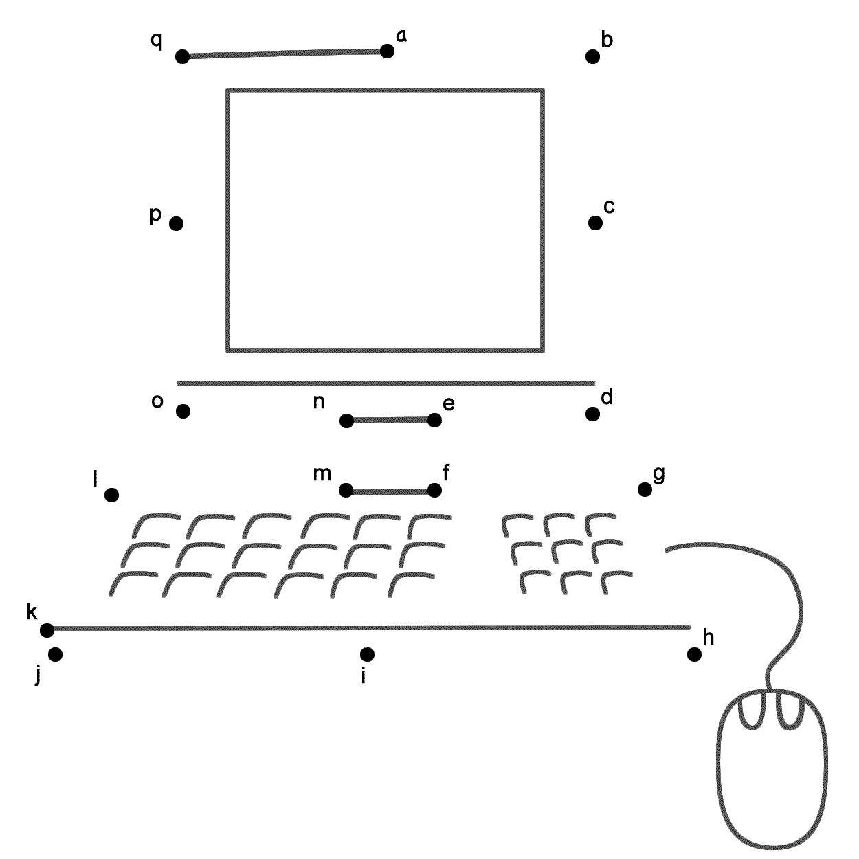 Parts Of Computer Worksheet For Kindergarten