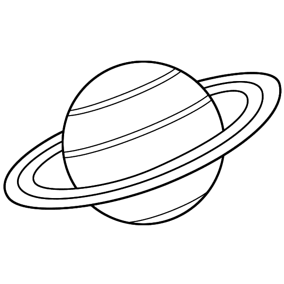 planet saturn for kids - 585×585