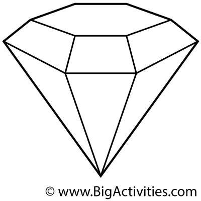 The Diamond Minecart Coloring Coloring Pages