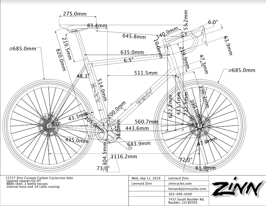 Zinn Cycles::Big and Tall Bike shop:: Used carbon fiber