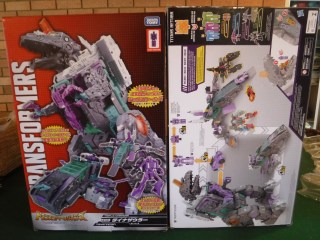 Video: Comparison of LG43 Trypticon and Titans Return Trypticon