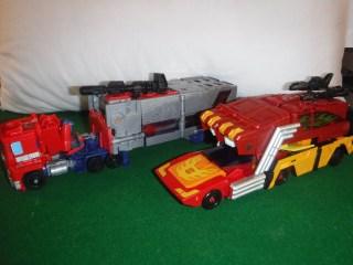 Toys Review - POTP Optimus & Rodimus Prime