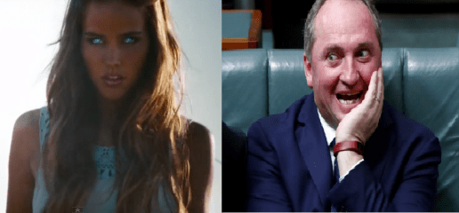 Alien Robot to be Barnaby Joyce's new assistant