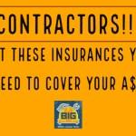 Insurance for Contratistas