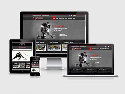 sport website design