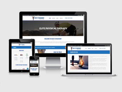 wellness practitioner website