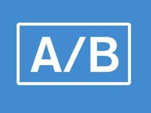 AB landing page testing