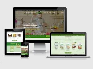 website redesign showcase