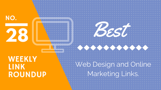 web design and marketing link roundup