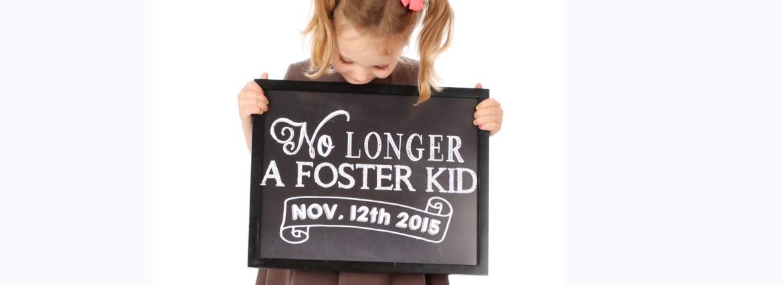 No longer a foster kid