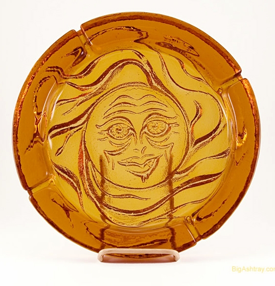 Big Ashtrays Weighs Nearly 7 Lbs. Perfect Patio Ashtray Or Pool Area Ashtray .