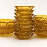 Retro Soreno Glass Ashtrays Small