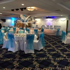 Chair Covers Hire Bolton Padded High The Big Balloon Company Leigh Lancashire Wedding Turquoise Organza Vere Whites Gold
