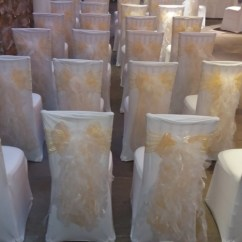 Chair Covers Hire Bolton Mickey Mouse Saucer Uk The Big Balloon Company Leigh Lancashire Wedding Champagne Gold And Ruffle Sashes At Tithe Barn Clitheroe