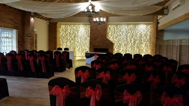 chair covers hire bolton swivel images the big balloon company leigh lancashire wedding gold