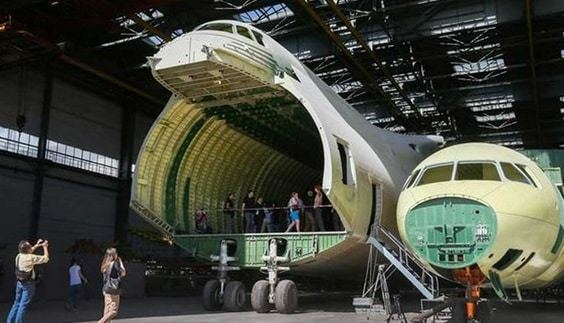 World's Biggest Plane May Be Finished 30Years After Construction