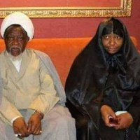 El-Zakzaky And Wife Arrive Nigeria From India