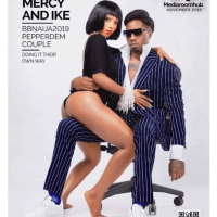 Mercy And Ike Under Attack For Copying Kylie Jenner & Travis Scott Nude Pose