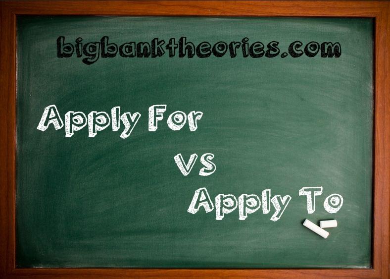 Penggunan Apply For Dan Apply To Dalam Kalimat