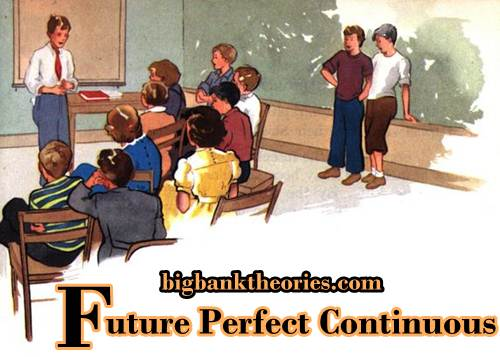 Contoh Kalimat Future Perfect Continuous