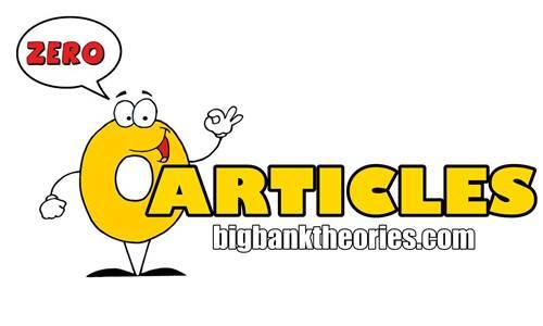 Contoh Kalimat Zero Articles