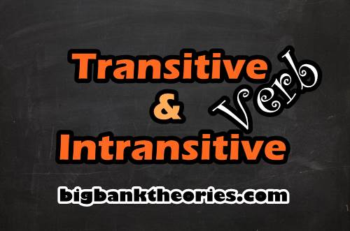 Kata Kerja Transitif Dan Intransitif