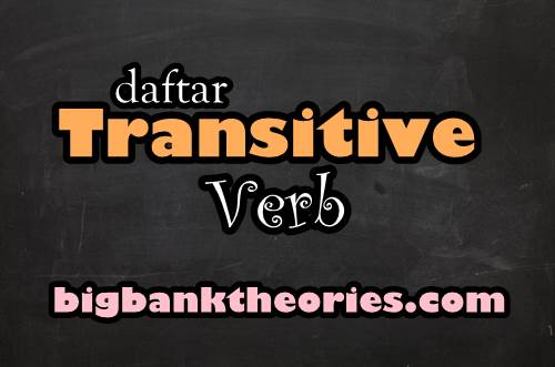 Transitive Verb List